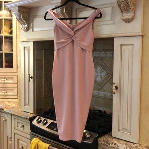Dolly Blush Midi Dress